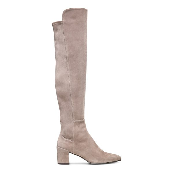 STUART WEITZMAN Allwayhunk - These block heel just-over-the-knee boots are fabulous in...