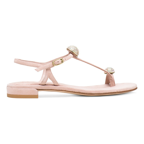 STUART WEITZMAN Ballsoffire - Show off your sparkle in these embellished sandals. These