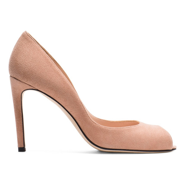 STUART WEITZMAN Cachet - Make a peep in the season's newest peep-toe pumps: Set on a