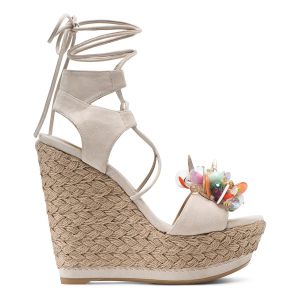 STUART WEITZMAN Cake - Looking fabulous is a cakewalk in this eye-catching...