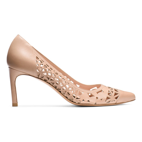 STUART WEITZMAN Cutin - Meet the season's must-have mid-heel pumps: The CUTIN