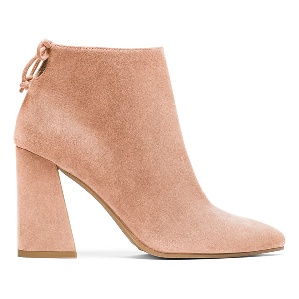 STUART WEITZMAN Grandiose - These Mod-inspired booties boast a bold, flared block heel...