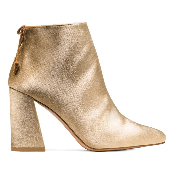 STUART WEITZMAN Grandy - These Mod-inspired booties boast a flared block heel and a...