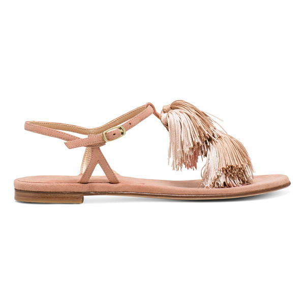 STUART WEITZMAN Jabow - Get swept away by these statement sandals: Top-tier tassels