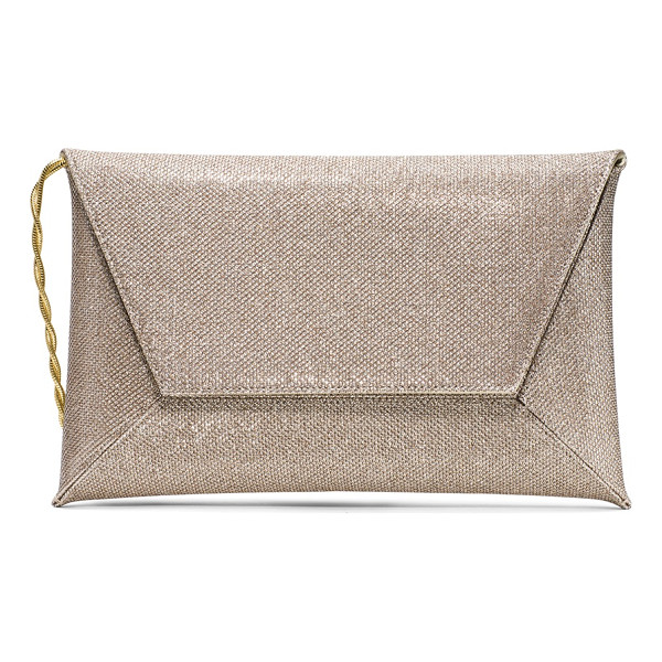 STUART WEITZMAN Keeping - Sharp, clean lines define this elegant envelope clutch,