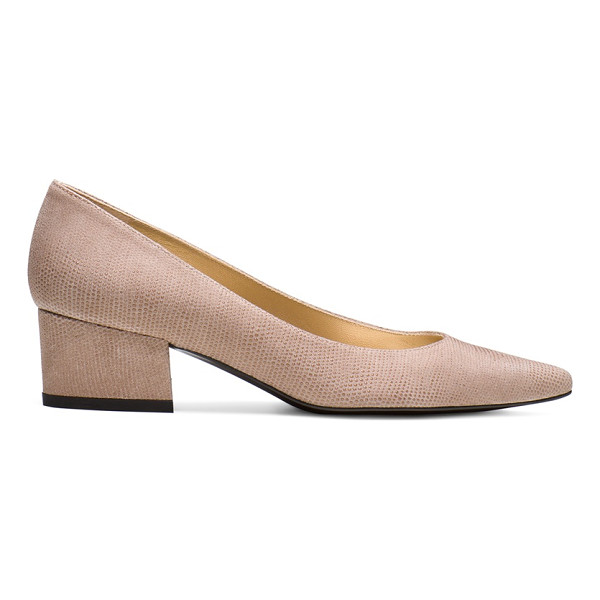 STUART WEITZMAN Largo - These one-of-a-kind pumps are crafted from sumptuous nappa...