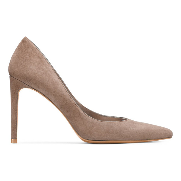 STUART WEITZMAN Legend - These pointed-toe pumps just might be perfect — note the