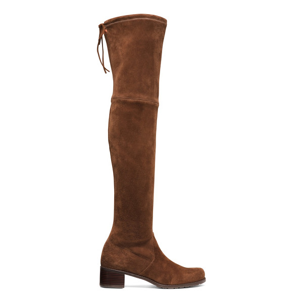 STUART WEITZMAN Midland - Over-the-knee boots maintain their reign, and this new