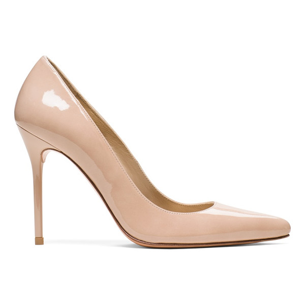 STUART WEITZMAN Nouveau - Unequivocally sexy, this powerful statement shoe is one of...
