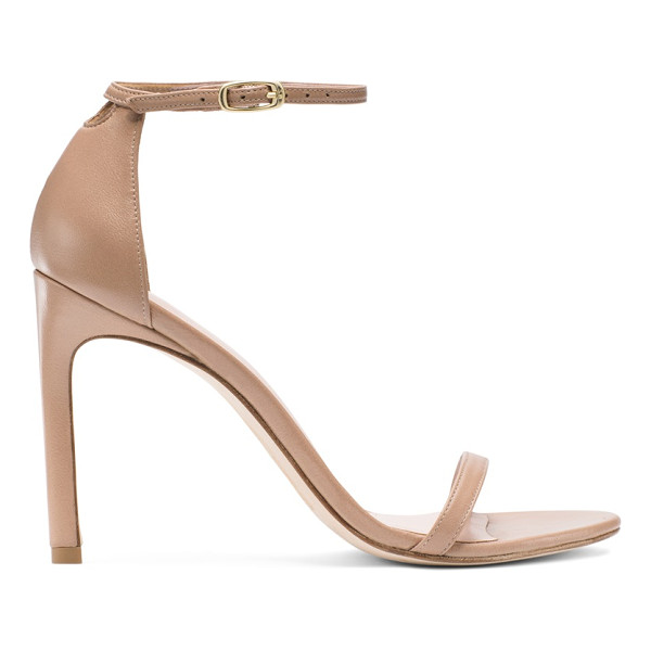 STUART WEITZMAN Nudistsong - Versatility reigns with these minimalist must-own sandals.