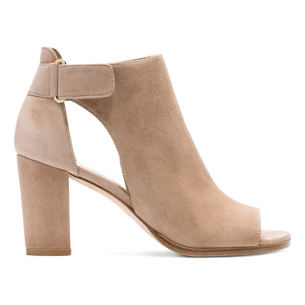 STUART WEITZMAN Opendoor - Crafted from luxe nappa and sumptuous suede, these punchy