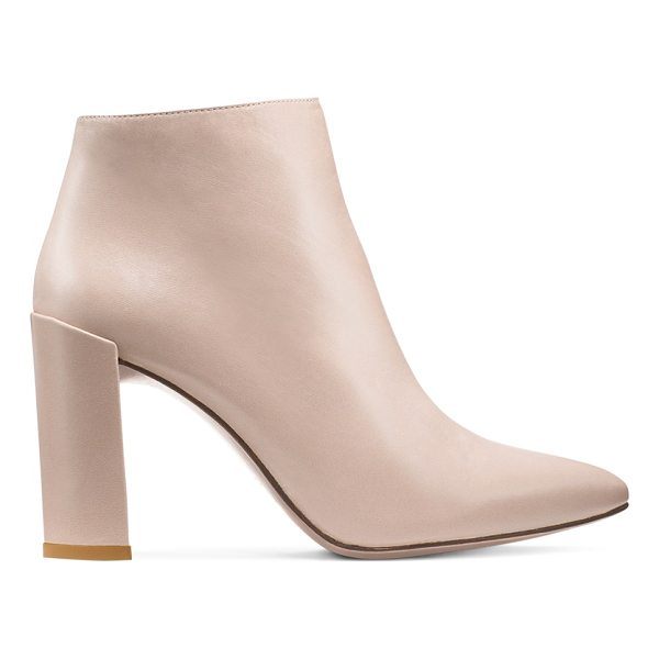 STUART WEITZMAN Pure - Crafted from luxe nappa and finished with a slim block...