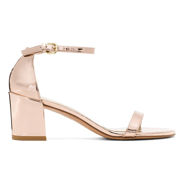 STUART WEITZMAN Simple - These single-sole sandals make a bold statement with their