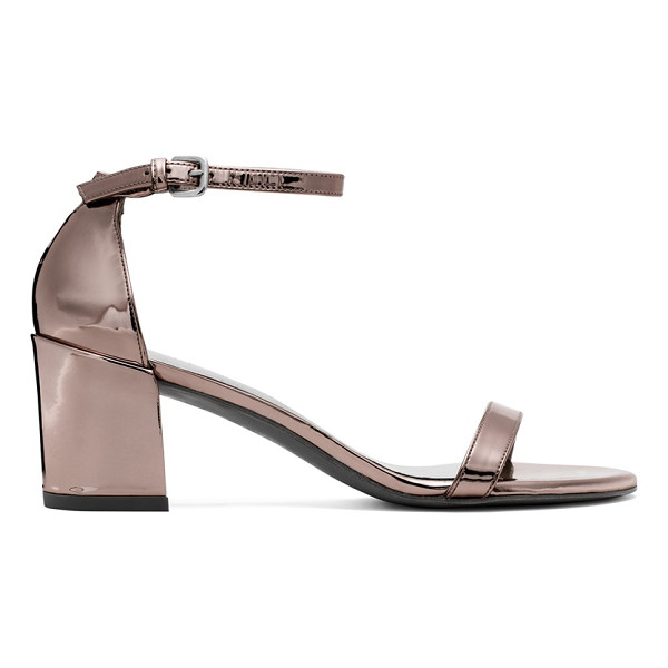 STUART WEITZMAN Simple - These single-sole sandals make a bold statement with their...