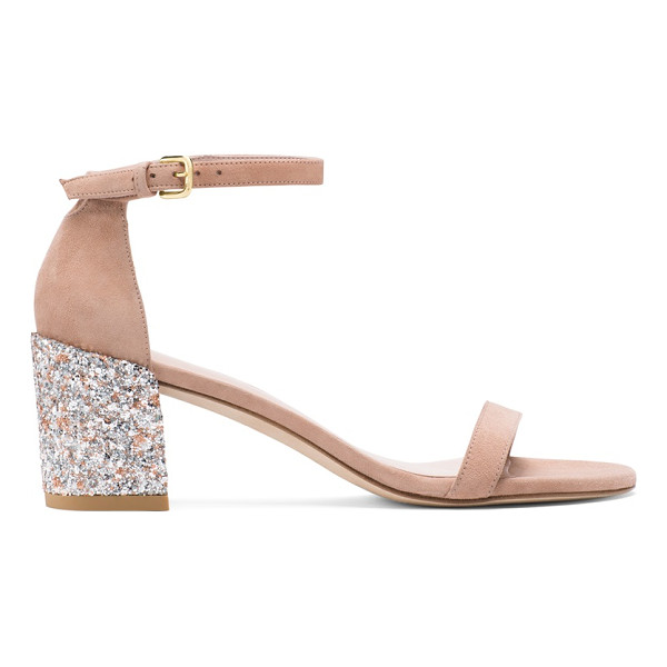 STUART WEITZMAN Simplemid - Sexy. Sharp. Sleek. Single-sole sandals return this season,
