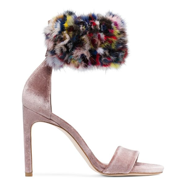 STUART WEITZMAN Snowbiz - Crafted from ultra-lush velvet and finished with a...