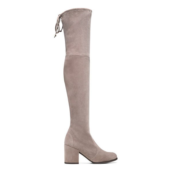 STUART WEITZMAN Tieland - The iconic over-the-knee TIELAND boots are designed for the...