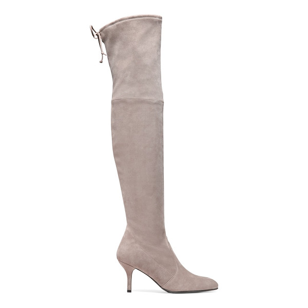 STUART WEITZMAN Tiemodel - These over-the-knee boots were designed to flatter the...
