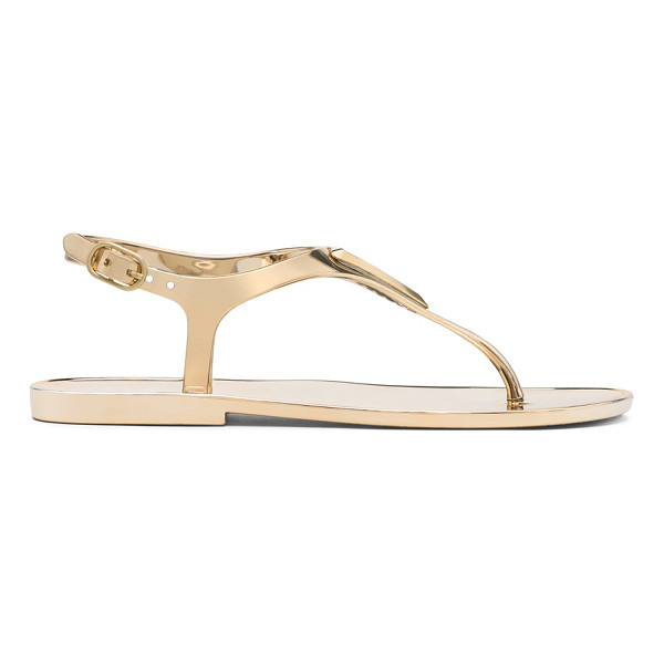 STUART WEITZMAN Trifecta - Step into these jazzed-up jelly sandals for easy, breezy...