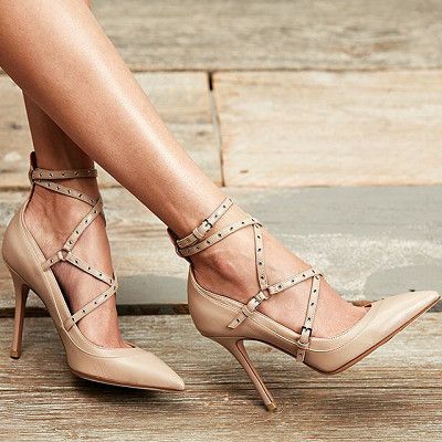 Nude Pumps. Make your legs look endless