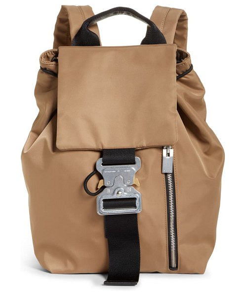 1017 ALYX 9SM tank roller coaster buckle backpack in brown