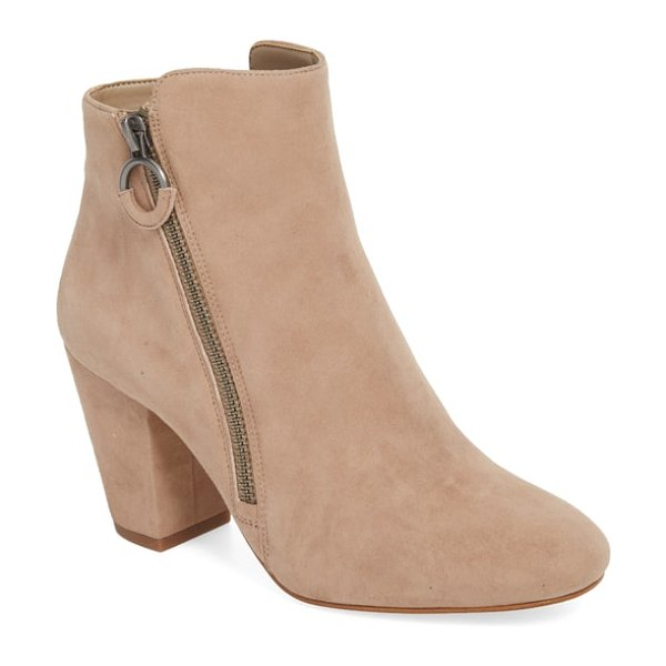 1.State preete bootie in stone suede - This block-heel bootie hits all the right notes with...