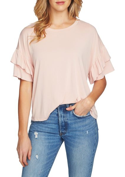 1.State ruffle tee in shadow pink - Consider this buttery-soft style the Goldilocks of...
