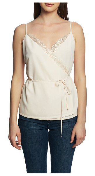 1.State wrap camisole in pink