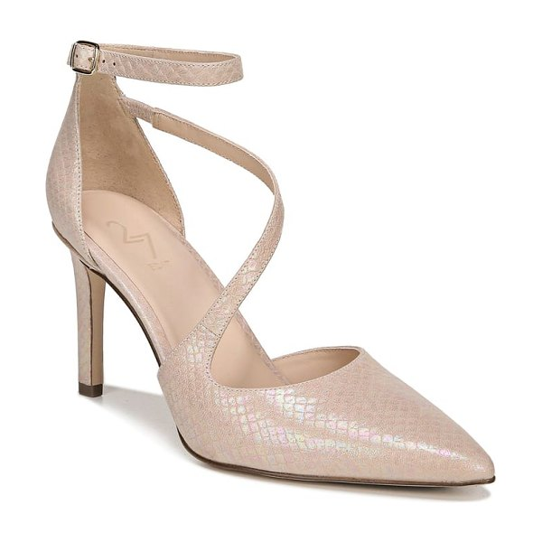 27 EDIT abilyn ankle strap pump in beige