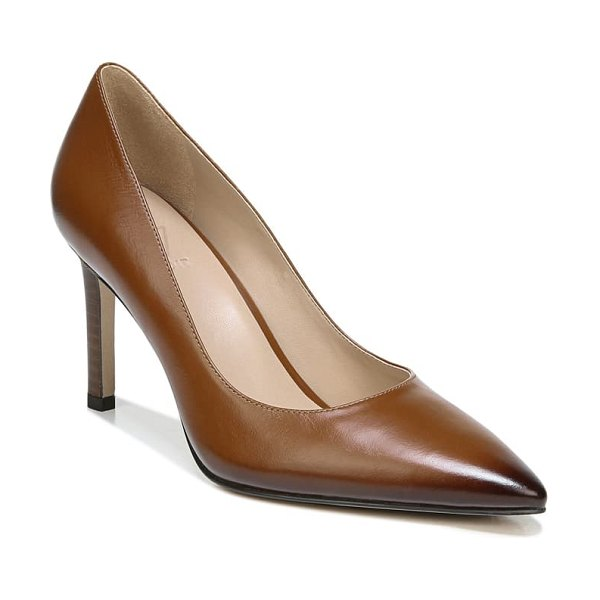 27 EDIT alanna pointed toe pump in brown