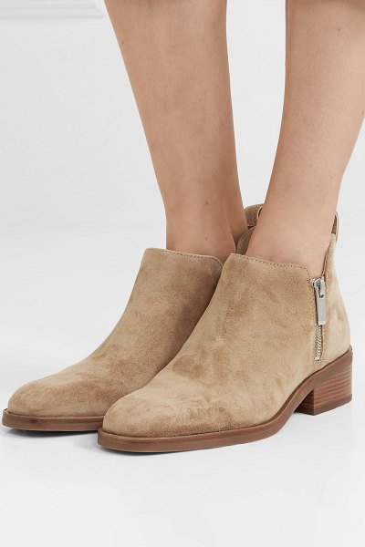 3.1 Phillip Lim alexa suede ankle boots in sand