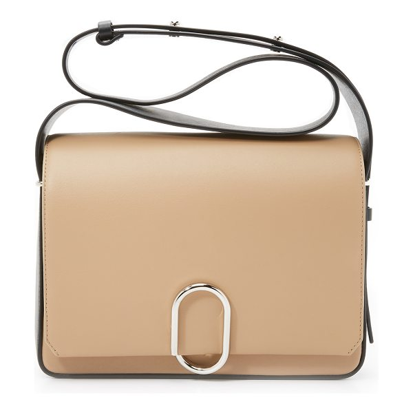 3.1 Phillip Lim Alix flap shoulder bag in fawn - A colorblock leather 3.1 Phillip Lim handbag with a...