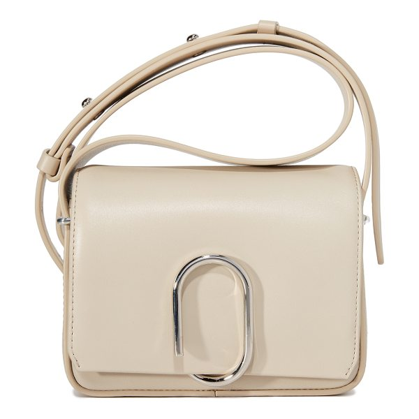 3.1 Phillip Lim alix flap shoulder bag in fawn - A leather 3.1 Phillip Lim handbag with a coiled clasp in...