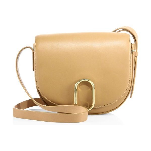 3.1 Phillip Lim alix leather saddle bag in camel