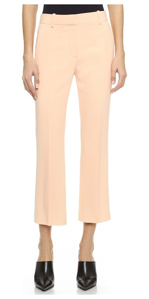 3.1 Phillip Lim Cropped flared pants in soft peach - These cropped 3.1 Phillip Lim trousers are cut with a...