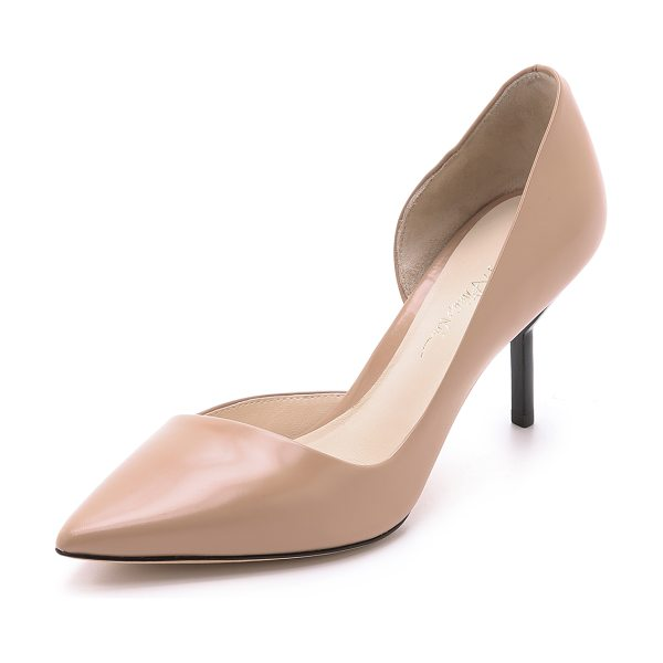 3.1 Phillip Lim Martini pumps in nude - Sophisticated 3.1 Phillip Lim pumps in a d'orsay kitten...