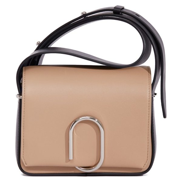 3.1 Phillip Lim 'mini alix' leather shoulder bag in fawn - The Mini Alix bag from Phillip Lim features custom...