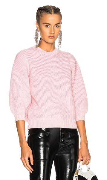3.1 Phillip Lim Mohair Sweater in pink