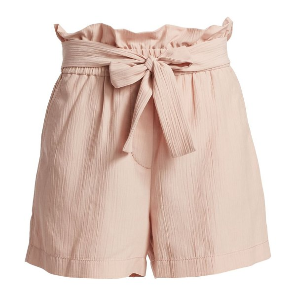 3.1 Phillip Lim paperbag shorts in light rose