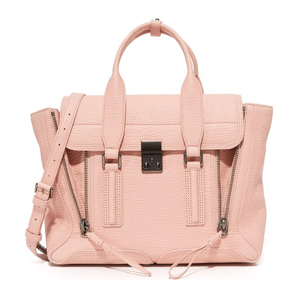 3.1 PHILLIP LIM 3.1 Phillip Lim Pashli Medium Satchel in petal - The classic 3.1 Phillip Lim Pashli satchel, rendered in...