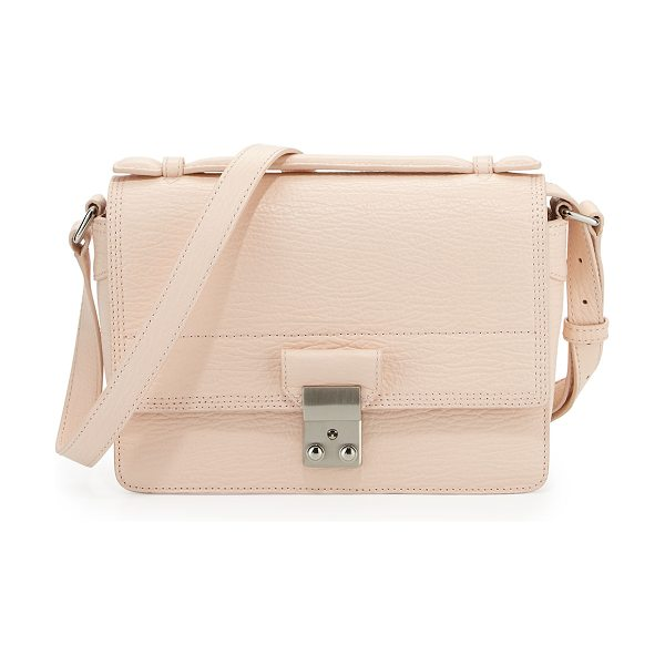3.1 Phillip Lim Pashli mini leather messenger bag in white peach
