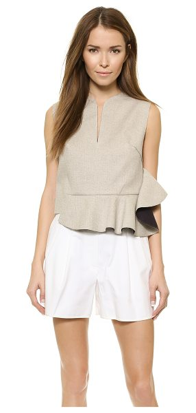 3.1 PHILLIP LIM Sleeveless ruffle crop top - This cropped, asymmetrical 3.1 Phillip Lim tank is...