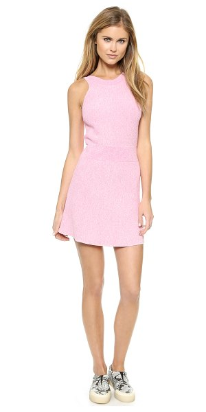 3.1 Phillip Lim Sleeveless sweater dress in pink - Ribbed knit lends soft texture to a marled 3.1 Phillip...