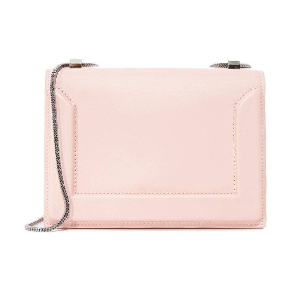 3.1 Phillip Lim soleil mini chain shoulder bag in light pink - A structured 3.1 Phillip Lim cross-body bag in smooth...