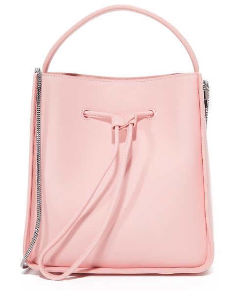 3.1 Phillip Lim soleil small bucket bag in light pink - A scaled-down leather bucket bag by 3.1 Phillip Lim,...