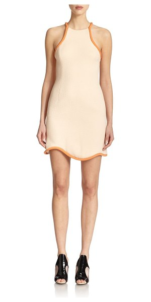3.1 Phillip Lim Textured tank dress in whisperpink - Sporty-chic design highlights this textures dress,...