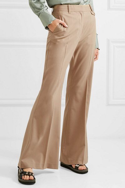 3.1 Phillip Lim wool-blend flared pants in beige - 3.1 Phillip Lim creates modern tailoring that feels so...