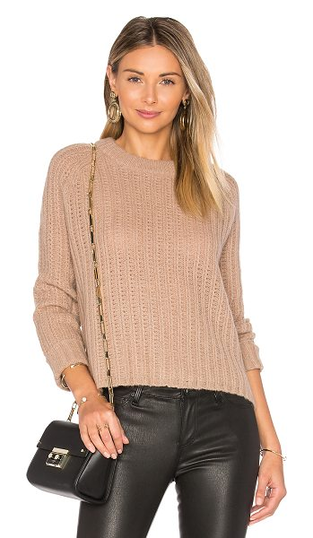 360SWEATER Inka Sweater - 100% cashmere. Dry clean only. Ribbed trim. Cable knit...