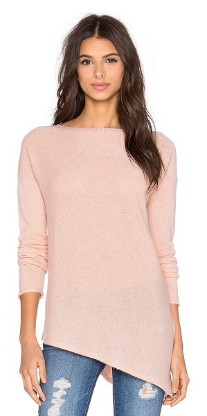 360Sweater Perry crew neck sweater in pink