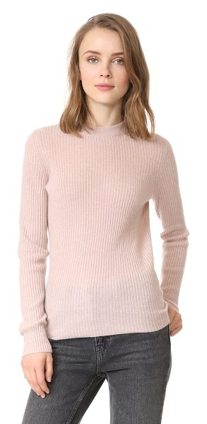 360Sweater priscilla cashmere sweater in rose quartz - Exclusive to Shopbop. This simple sweater is lovingly...